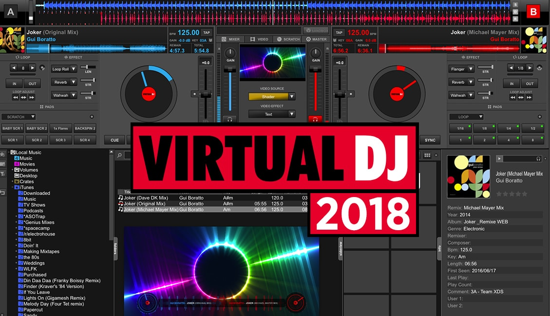Virtual DJ 2018 Crack