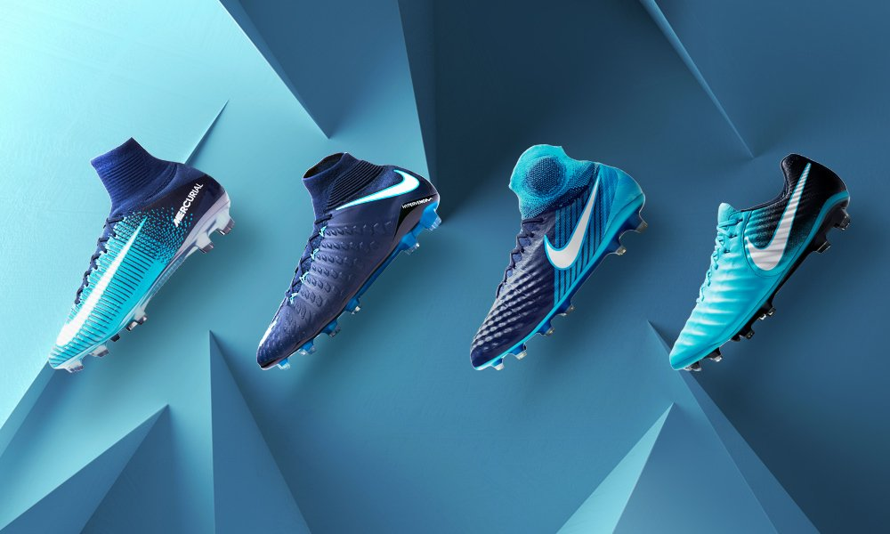Nike Ice Blue Shoes