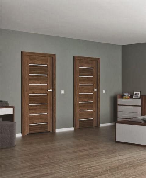 Najnowsze Galeria - wzory drzwi: Drzwi wewnętrzne Inovo z wąskimi szybkami JX74