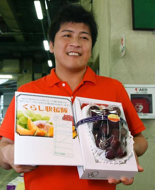 Setangkai Anggur Dilelang dengan Harga Rp. 143 Juta