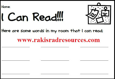 Free read the room recording sheet for primary classrooms - from Raki's Rad Resources.