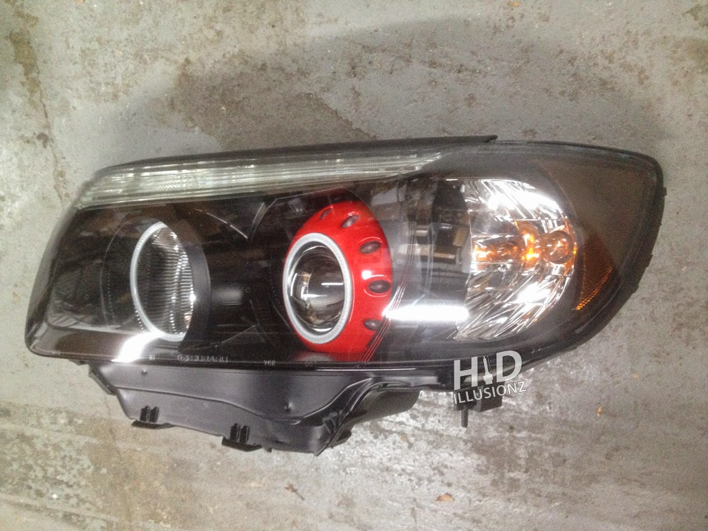 HID ILLUSIONZ: Subaru Forester Morimoto H1 MC-R XC LED RGB