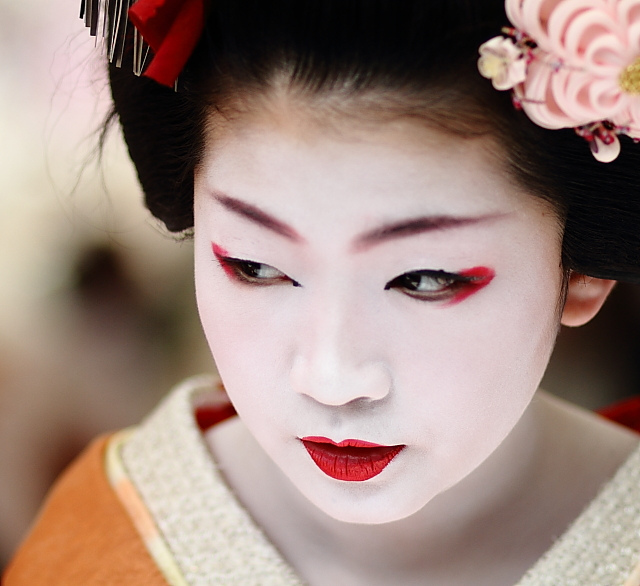 Arplus Behind The Mask Of A Geisha