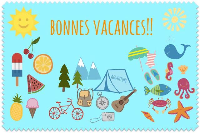Porozmawiajmy o wakacjach - nagłówek - Francuski przy kawie