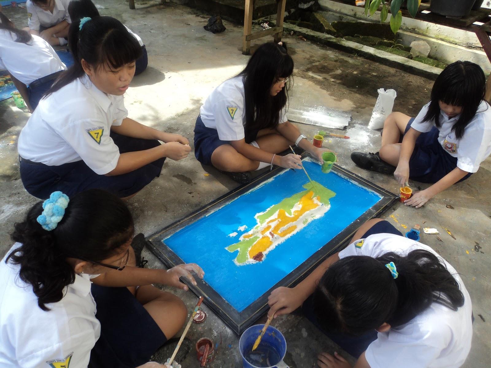 SMPK Santo Thomas Pamekasan Kegiatan Pembelajaran Siswa