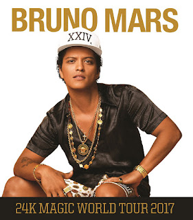 Bruno Mars - 24K Magic World Tour 2017