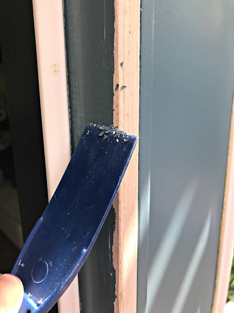 how to fix peeling paint