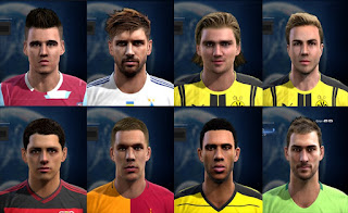 Facepack good quality x7 Pes 2013