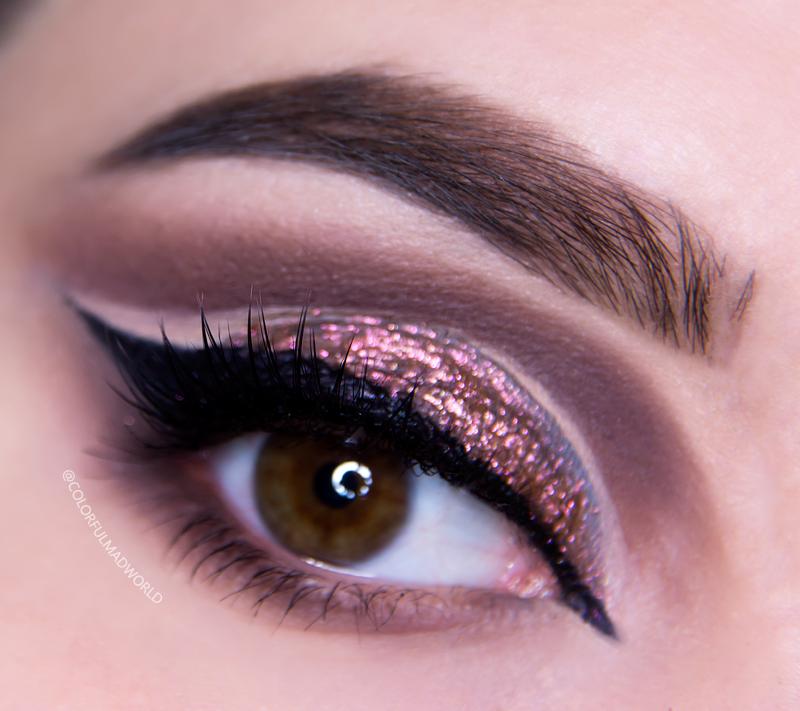 neicha 509, makijaż cut crease, tutorial, makijaż dla brązowych oczu, kocie oko