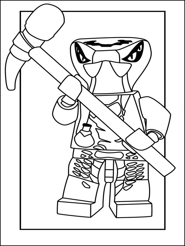 Desenhos Ninjago Snake...