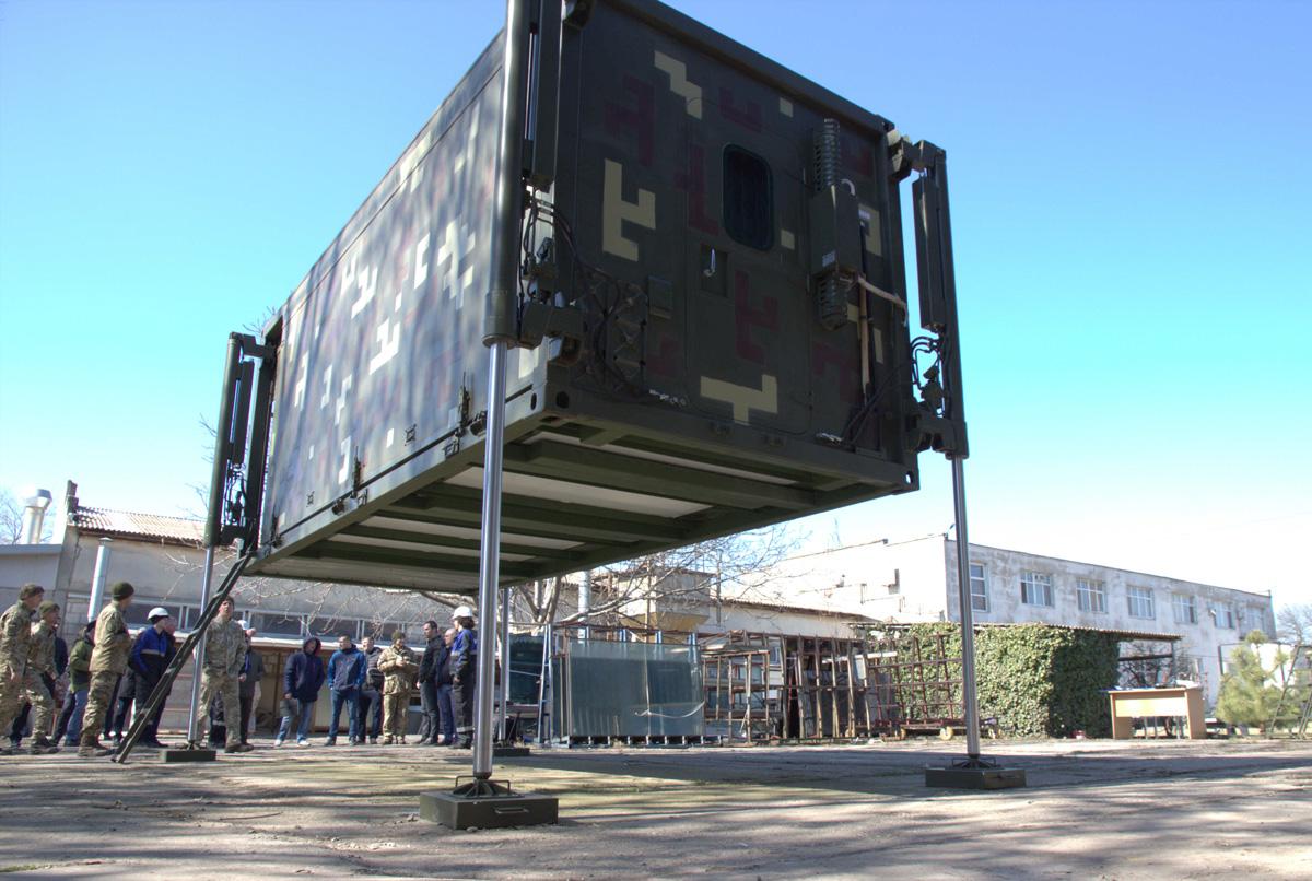 В Україні створили командно-штабного трансформера