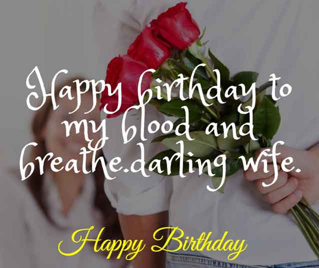 Happy birthday to my blood and breathe. HBD darling wife.