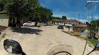 No centro de São Gonçalo do Rio das Pedras/MG.