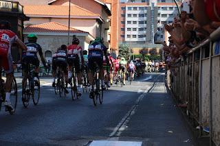 Paso de La Vuelta por Barakaldo