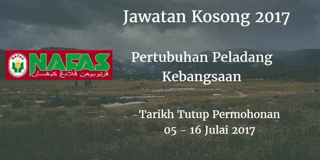 Jawatan Kosong Nafas 05 - 16 Julai 2017