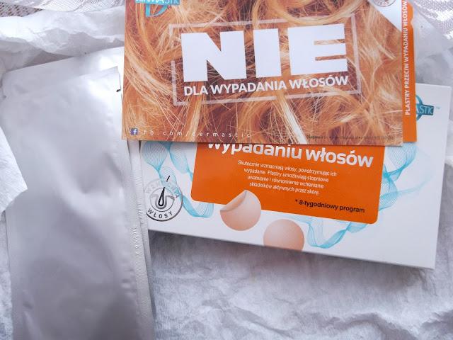 Plastry przeciw wypadaniu włosów Dermastic. O tym jak to mały plasterek działa cuda:)