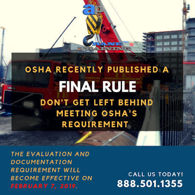 OSHA Published Final Rule For Crane Operators | Crane School