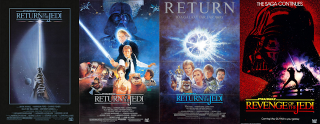 Return of the Jedi movie posters