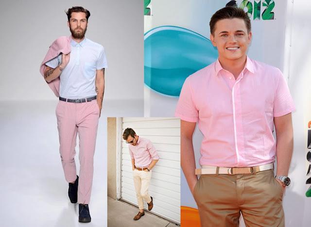 Look Masculino com tons de rosa (8)