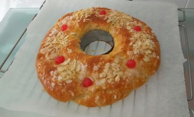 Roscón de Reyes para principiantes. Receta básica