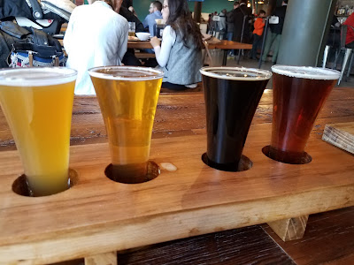 Beer flight, craft beer