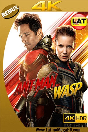 Ant-Man and The Wasp. El Hombre Hormiga y La Avispa (2018) Latino Ultra HD BDRemux 2160P ()