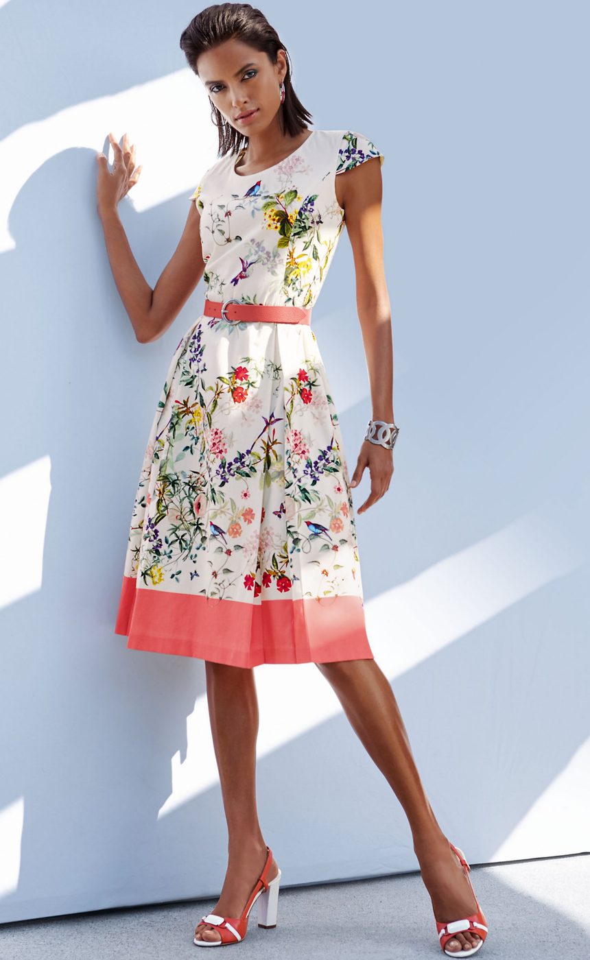 MADELEINE Floral Dress
