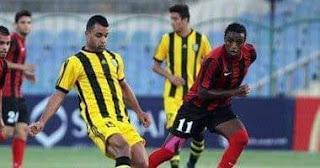 تعادل فريقين  المقاولون العرب والداخلية إيجابيا بهدفين
