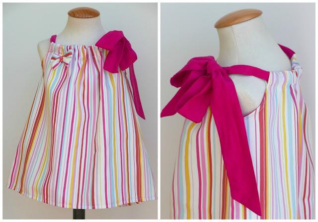 Patrón de costura para hacer vestido niña