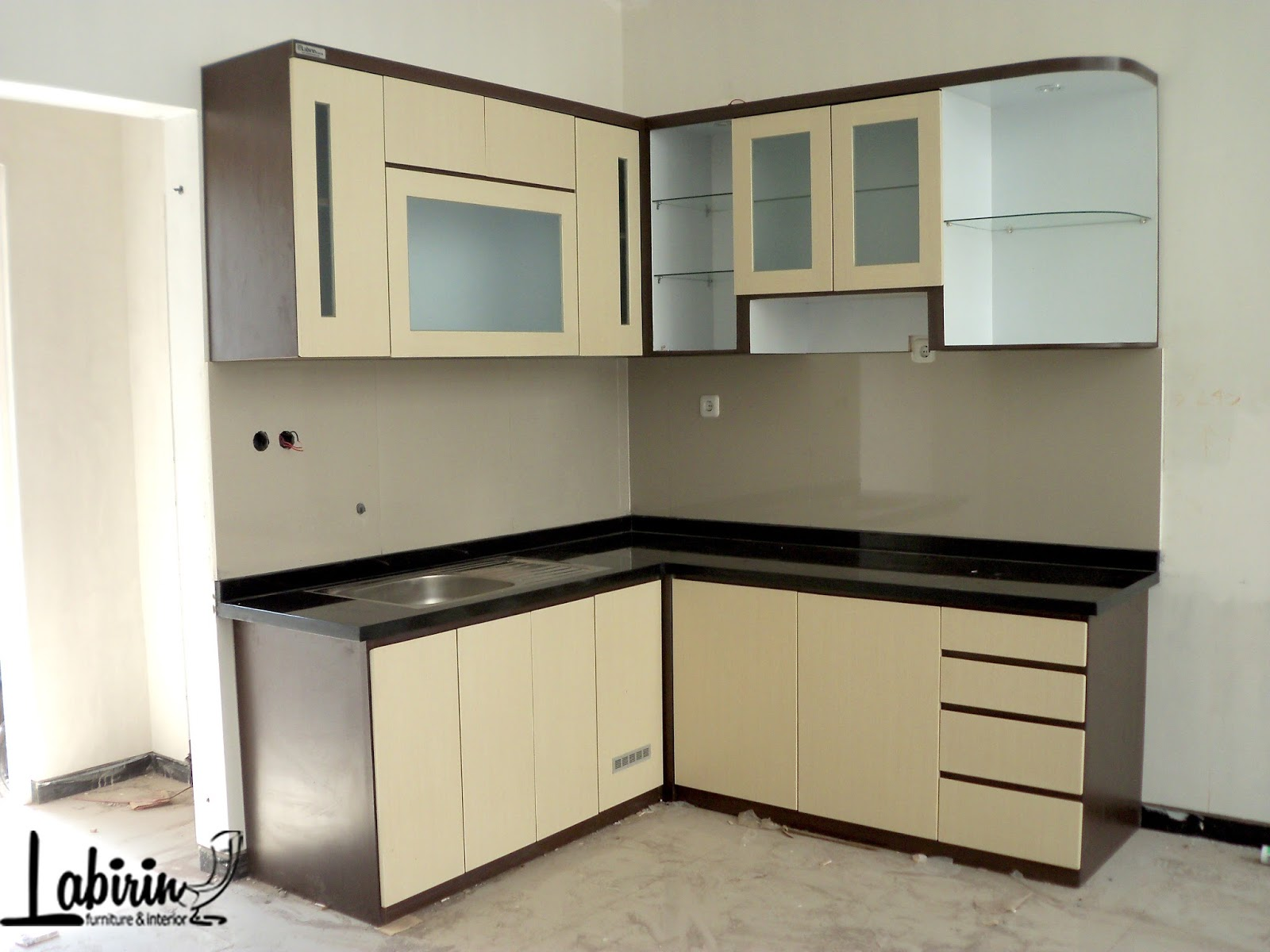 Meja Kompor Gas Sederhana Kitchen Set Malang Bapak Deny Kitchen Set Malang