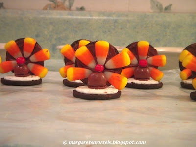 Margaret's Morsels | No Bake Turkey Cookies