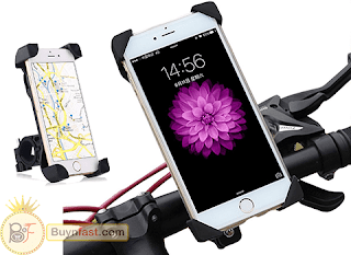 Review: Phone Bicycle Handlebar and Motorcycle Holder Cradle with 360 Rotate