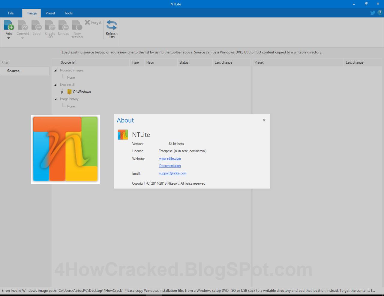 NTLite Enterprise 1.9.0 Build 7517 Full Crack Serial Key Download