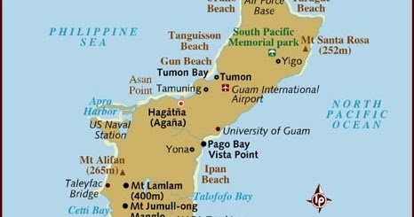 Pacific Sentinel USA Carter Guam Central to Asia