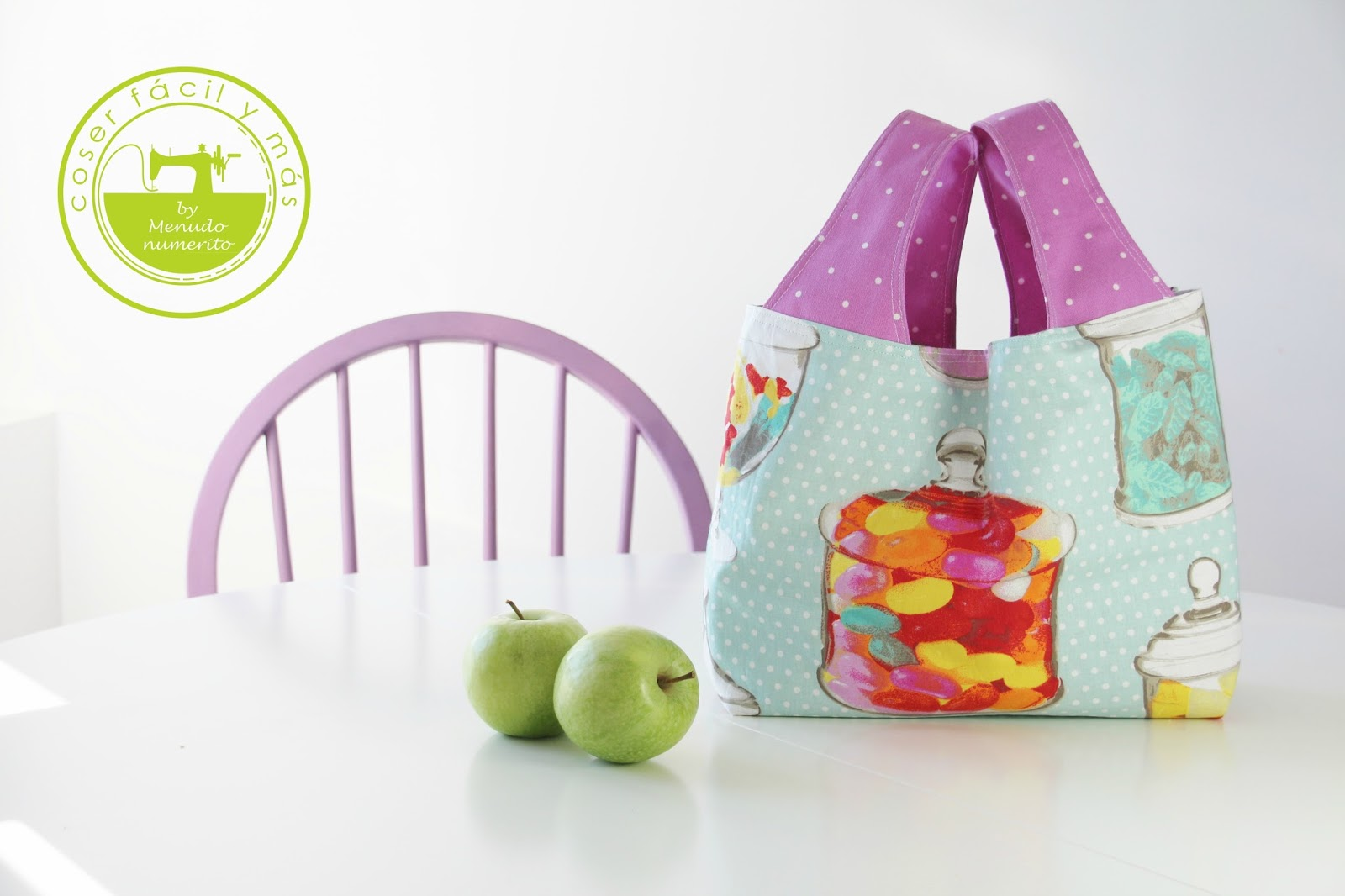 Bolsa de la compra de tela - Handbox Craft Lovers | Comunidad DIY ...