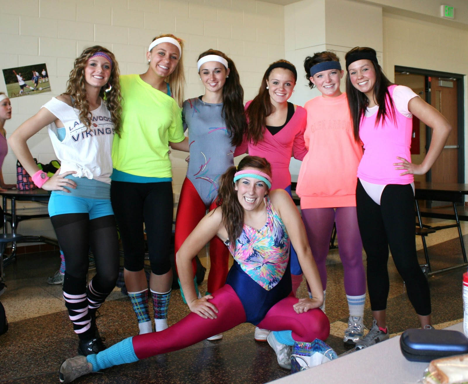 Fashionably Unique Day 19 80 S Fitness Birthday