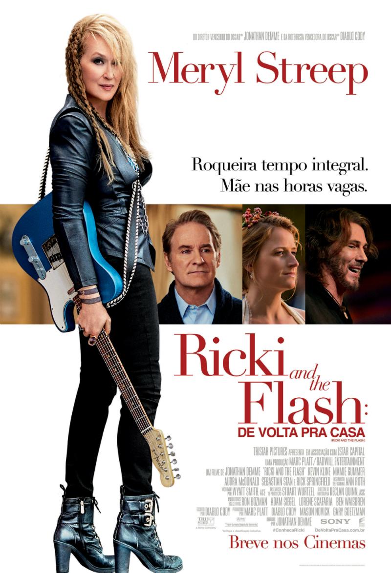 Ricki and the Flash: De Volta Para Casa – Legendado (2015)