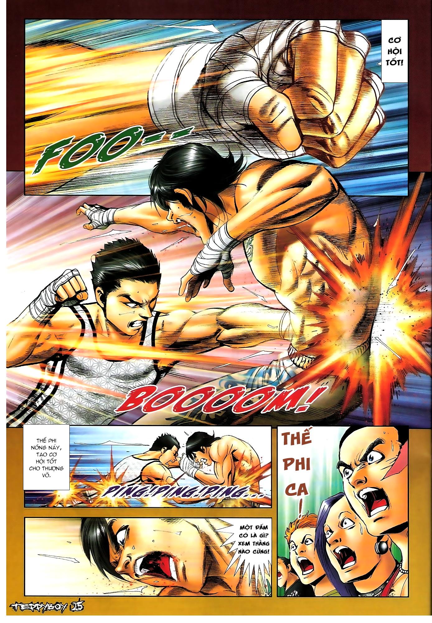 Người Trong Giang Hồ - Chapter 1306: Vinh Nhục Nhất Chiến 1 - Pic 20