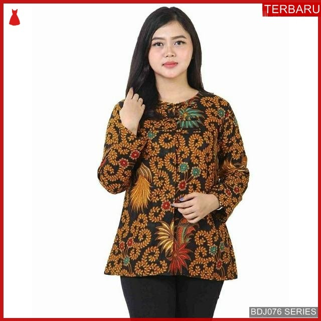 BDJ76B41 Blouse Batik 0046 Terbaru BMGShop