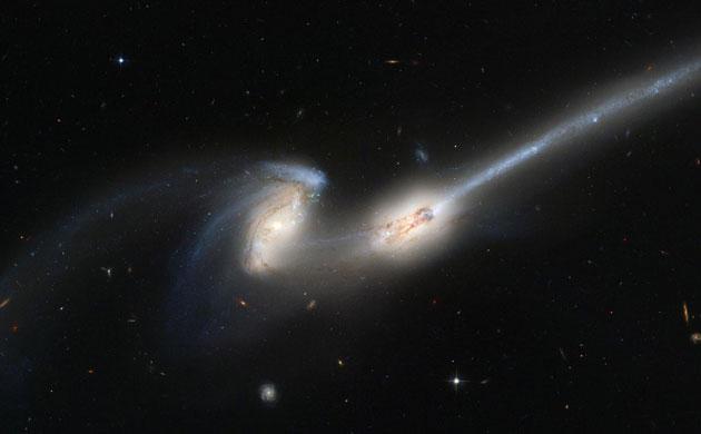 NGC 4676A / 4676B