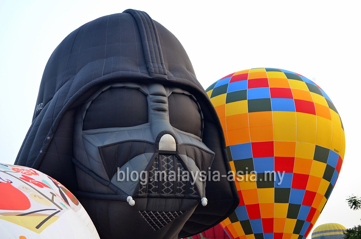 Darth Vader Hot Air Balloon Penang