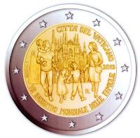 vatikaani 2 euroa kolikko 2012