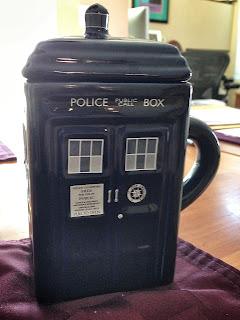 Covered TARDIS mug