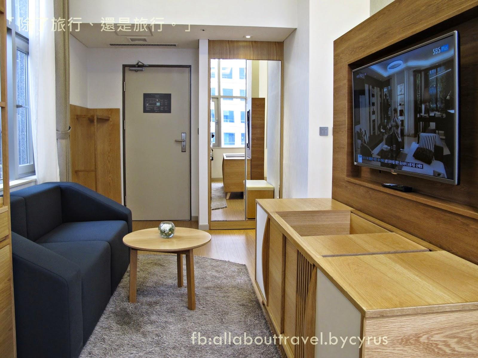 「除了旅行,還是旅行。」: 『韓國。住宿』明洞徒步,時尚居家感的全新精品酒店:明洞Staz Hotel 2號酒店