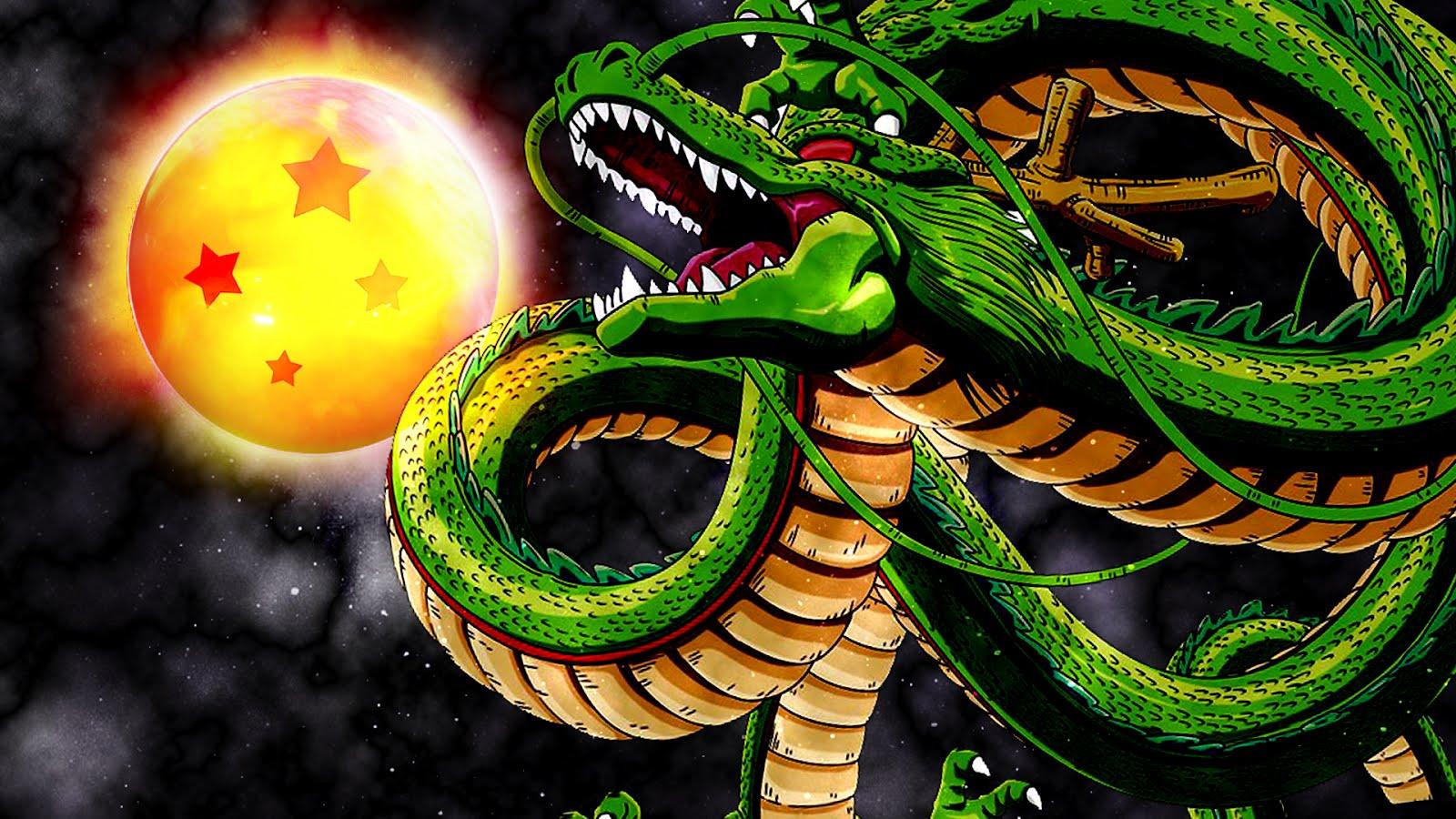 Goku y vegeta sheng long - Hd dragon ball z images ...