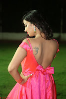 Actress Pujita Ponnada in beautiful red dress at Darshakudu music launch ~ Celebrities Galleries 078.JPG