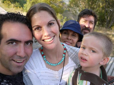 Leonardo Sanchez Miranda and his family