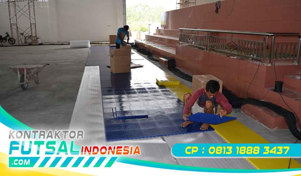 Kontruksi Lantai Lapangan Olahraga