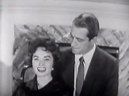 this image is taken from a clip of ann singing winter wonderland with perry como on his television christmas show - Perry Como Christmas Show
