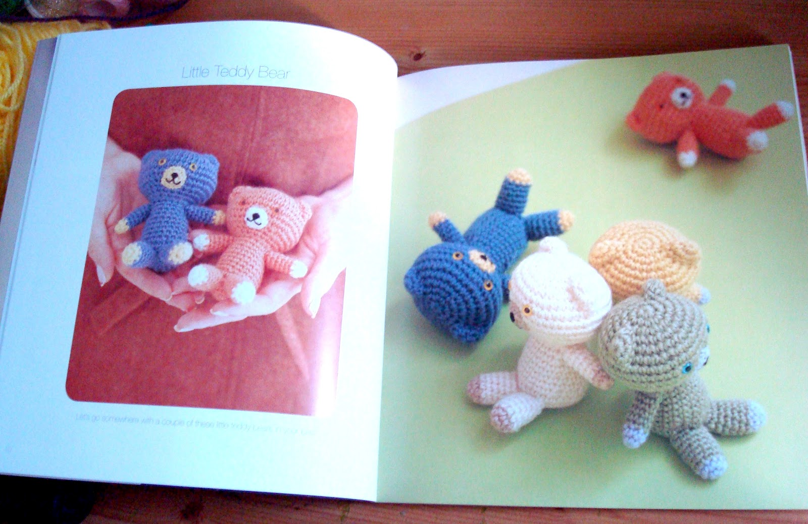 The pattern was really easy to use. The author provides a page describing  the symbols and stitches used in the book which was great.